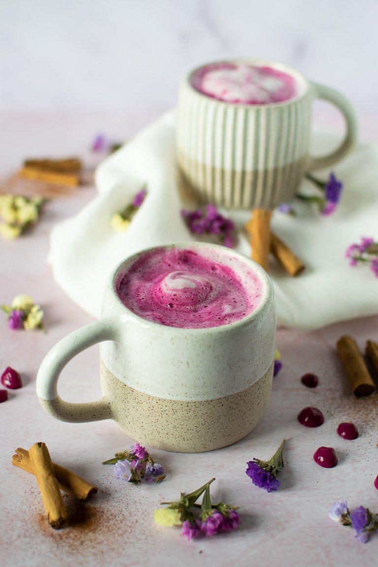 Latte Rosa di Barbabietola